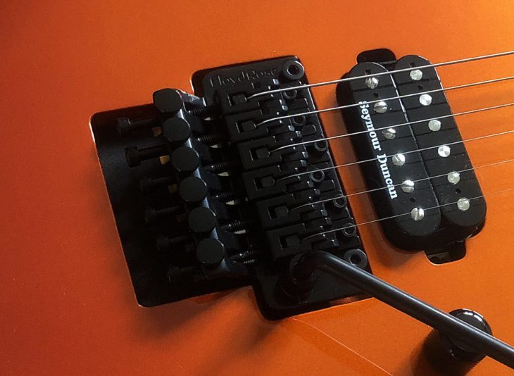 ESP LTD M-400 SOLFD Vibrato
