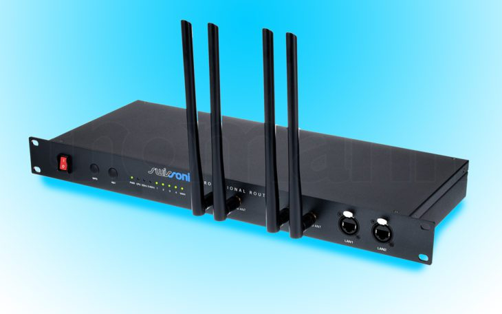 Swissonic Professional Router