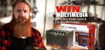 Gewinnspiel: IK MULTIMEDIA 3x iRig Pro Duo Studio Suite & 3x iRig Micro Amp