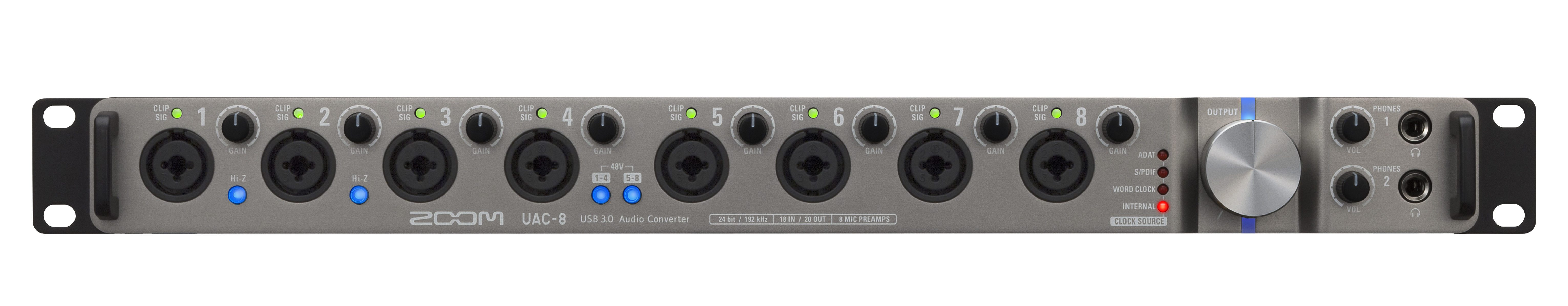 Test: Zoom UAC-8, USB 3 0 Audiointerface - AMAZONA de