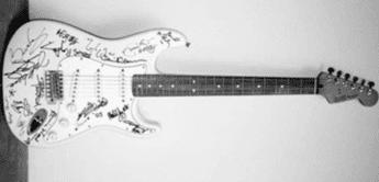 Die 5 teuersten Gitarren der Welt – und warum sie so teuer waren