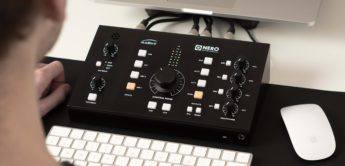 Test: Audient Nero, Monitor-Controller