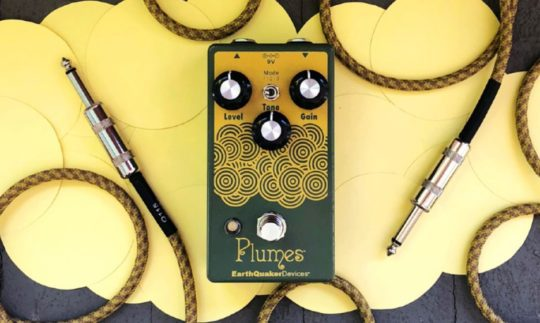 Test: Earthquaker Devices Plumes, Verzerrer-Pedal