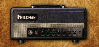 Test: Friedman JJ-Junior Head, Gitarrenverstärker