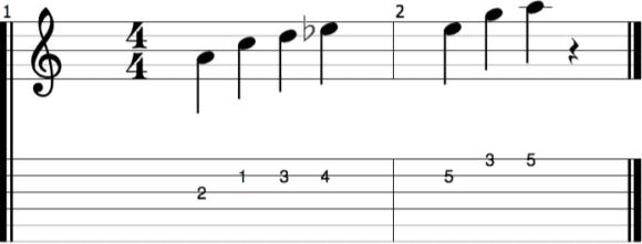 Harmonielehre verstehen - Teil 5 - abb4 pentaMoll NOTEN