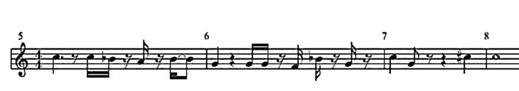 Harmonielehre verstehen - Teil 6 - 1_1-Melodie-580x102