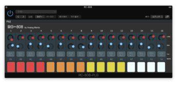 Analog Mafia RC-808-PLG, Freeware der TR-808 Drummachine