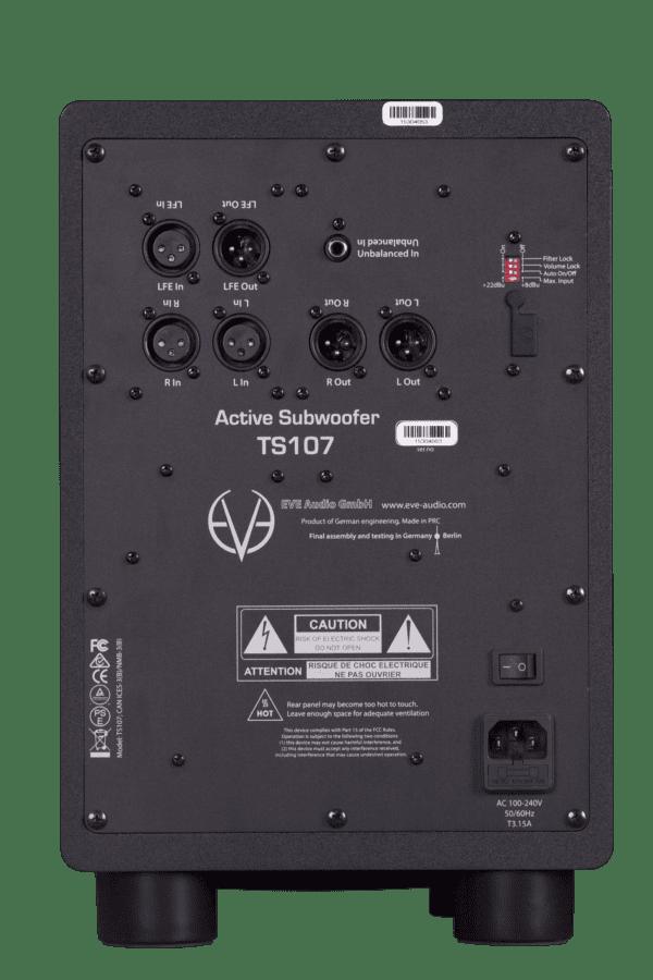 Eve Audio TS107 - Rueckseite