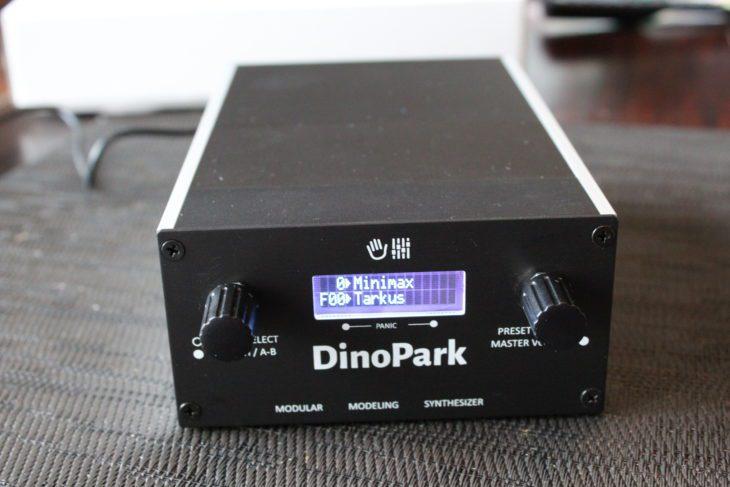 MakeProAudio DinoPark fertig aufgebaut