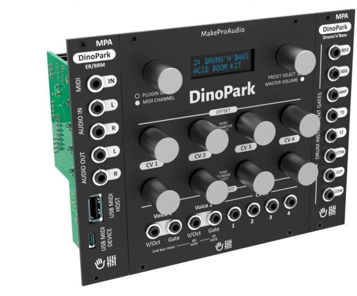 MakeProAudioeuro DinoPark Eurorack 3