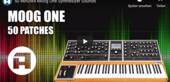 Moog One Video-Demo, 50 Patches, 50 Minutes