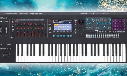 Test: Roland Fantom 6,7,8 Workstation und Synthesizer