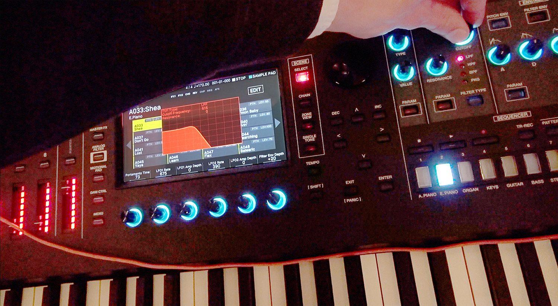 report roland fantom 6 synthesizer workstation 2019. Black Bedroom Furniture Sets. Home Design Ideas