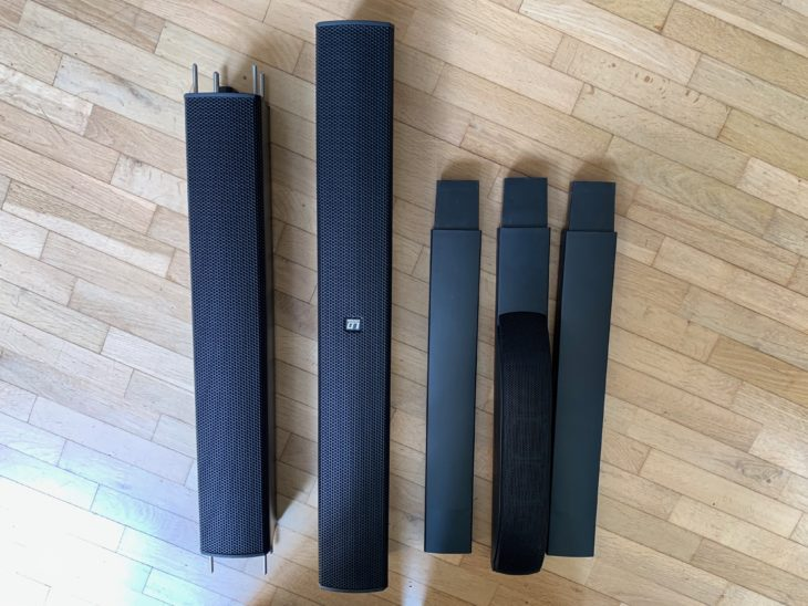 Vergleichstest Säulenlautsprecher-LD-System-MAUI-11-G2_und_JBL-EON-ONE-PRO-Säulen