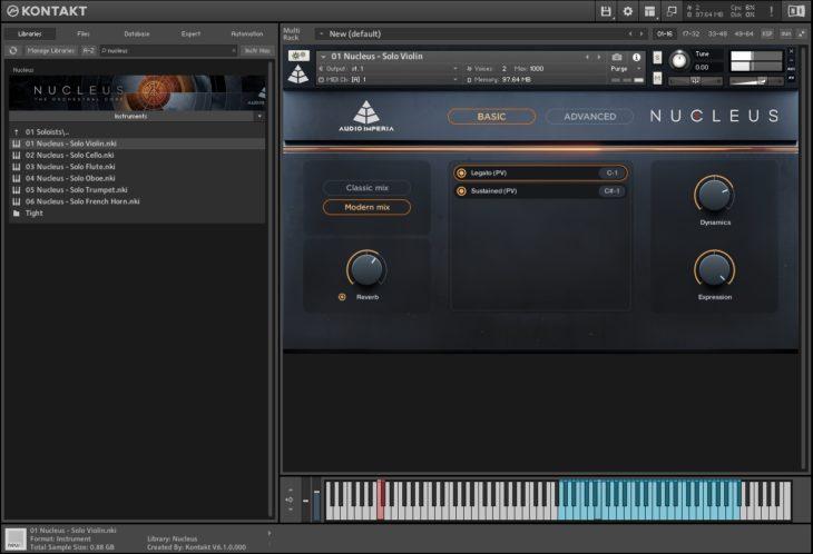 Audio Imperia Nucleus - Soloists