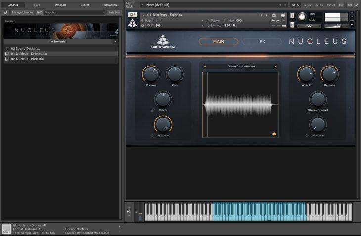 Audio Imperia Nucleus - Sound Design Main