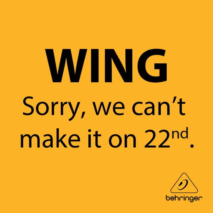 behringer wing digitalmischpult
