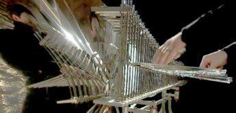 Cristal Baschet – ein Synthesizer aus Metall und Glas