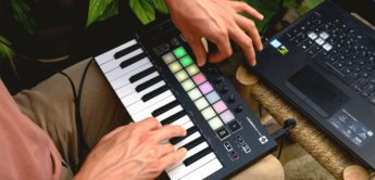 Test: Novation Launchkey Mini Mk3, MIDI-Keyboard