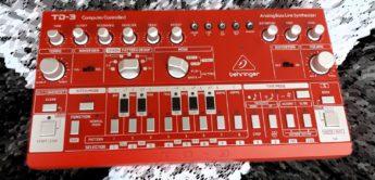 First Look: Behringer TD-3 Bass Line, Nachbau der Roland TB-303