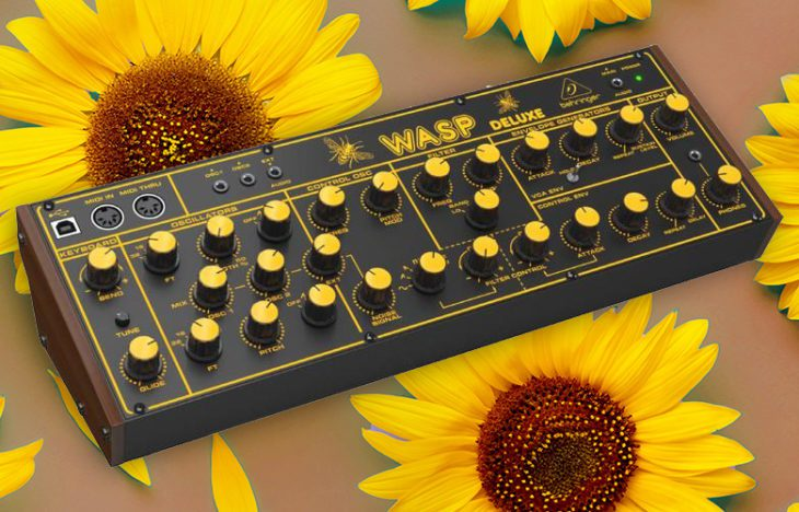 Test: Behringer WASP Deluxe, Desktop-Synthesizer Klon