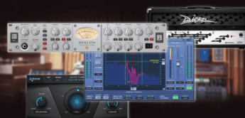 Avalon 737 Channelstrip Teil des Universal Audio Plugin-Updates 9.11