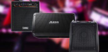 Vergleichstest: Millenium DM30, Laney DH80, Alesis Strike Amp 12, E-Drum Monitore
