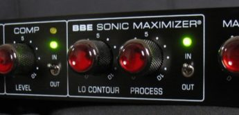 Test: BBE B MAX Bass Preamp Sonic Maximizer