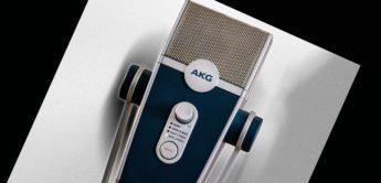 AKG stellt USB-Mikrofon Lyra im Retro Look vor