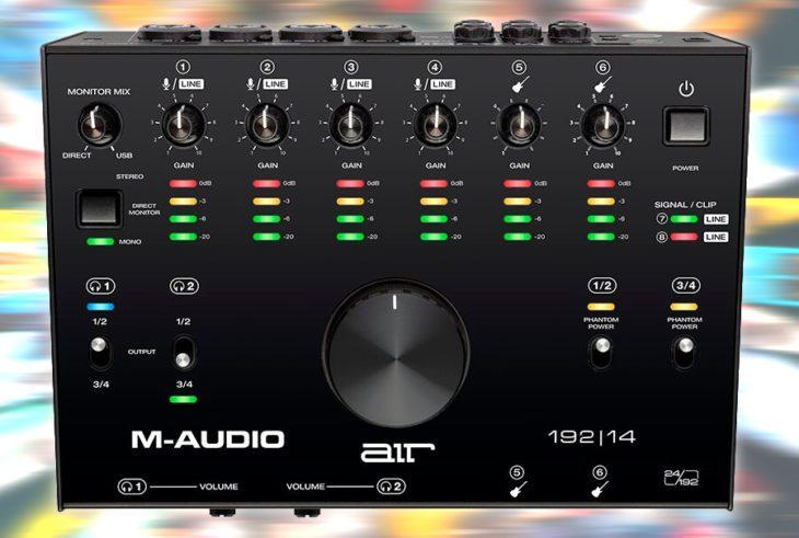 maudio air 192 14 interface