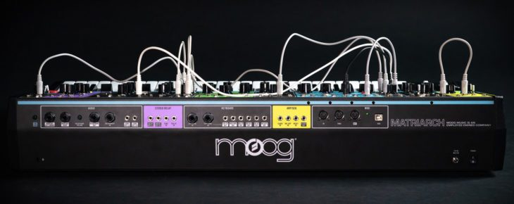 Test Moog Matriarch