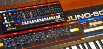 Test: Roland JU-06A vs Roland Juno-60 Synthesizer