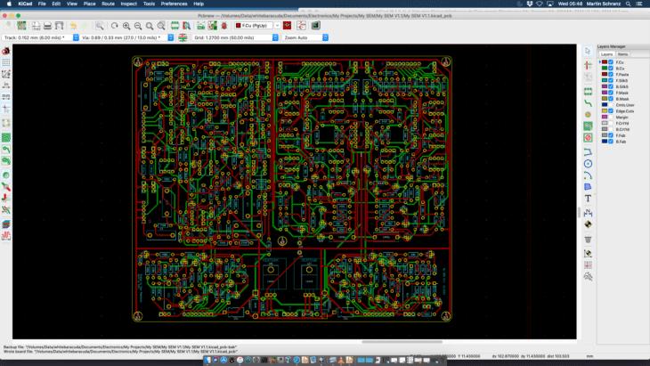 MYSEM PCB Layout