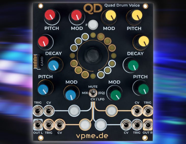 vpme quad drum voice qd
