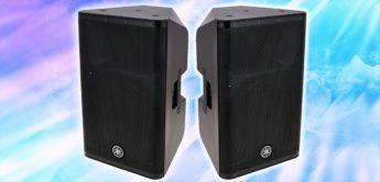 Test: Yamaha DXR12 mkII Aktivlautsprecher