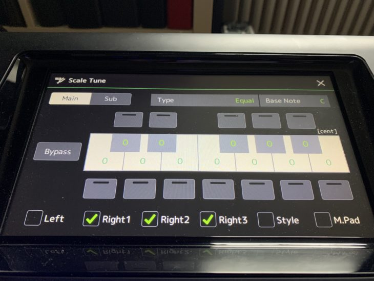 Yamaha Genos V2 Upgrade_ScaleTune
