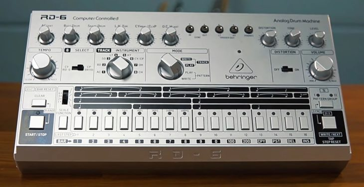 Behringer RD-6 Analog Drum Machine