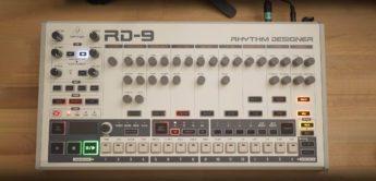Behringer RD-9 Drumcomputer, analoger TR-909 Klon