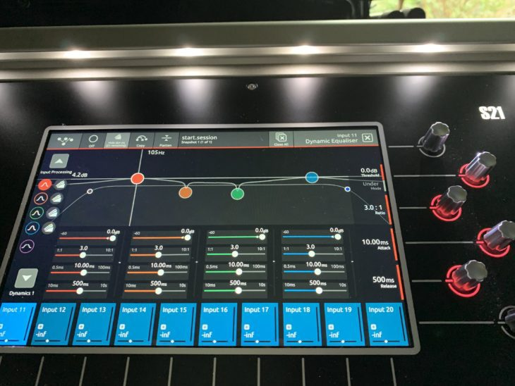 DiGiCo S21 Digitalpult-Dynamic EQ
