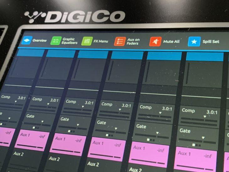 DiGiCo S21 Digitalpult-Macros