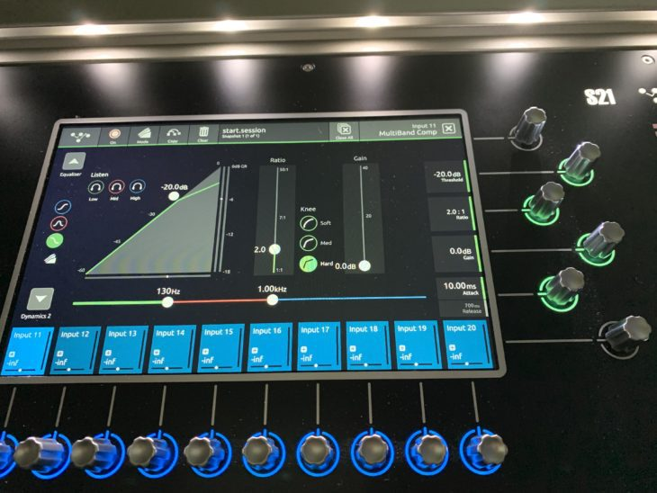 DiGiCo S21 Digitalpult-Multiband Compressor