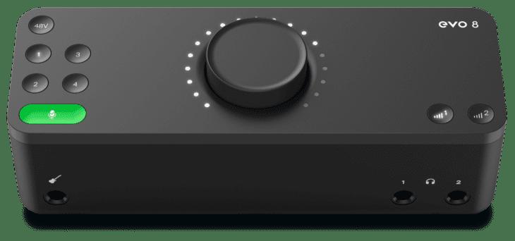 Audient EVO 4 und EVO8 Audiointerfaces