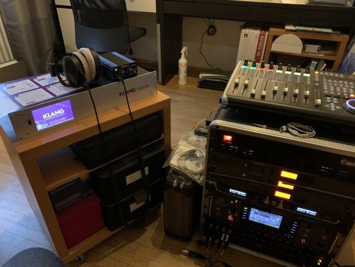 KLANG:fabrik:Test im Studio