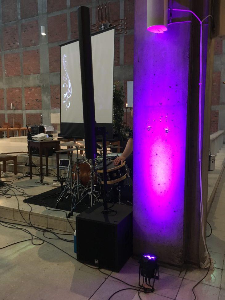 Lichttechnik für Einsteiger_Säulenbeleuchtung