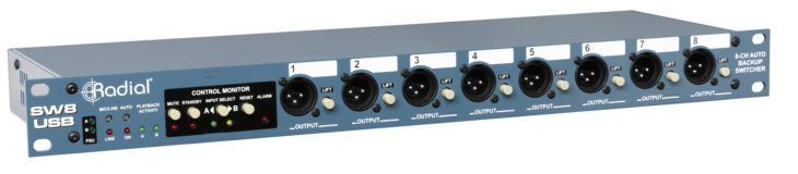 Radial SW8-USB_Front