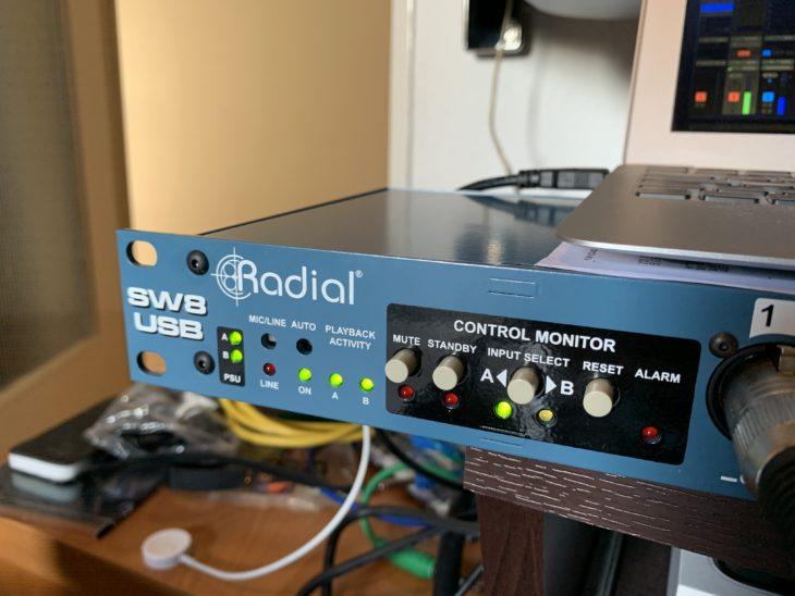 Radial SW8-USB_Normalbetrieb