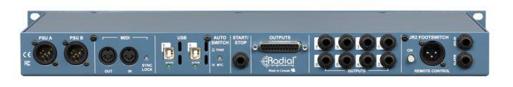 Radial SW8-USB_Rückseite