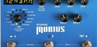 Test: Strymon, Mobius, Multimodulationseffekt