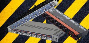Vergleichstest: Audient ASP880, Behringer ADA8200, RME OctaMic 2, 8-Kanal-ADAT-Vorverstärker