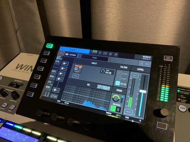 Behringer Wing_Home-Screen